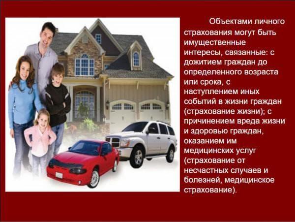 классификация личного страхования