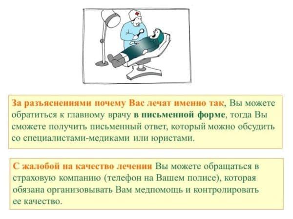 Защита прав граждан застрахованных по ОМС